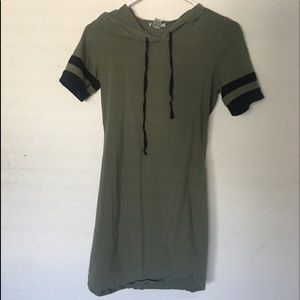 Olive casual dress